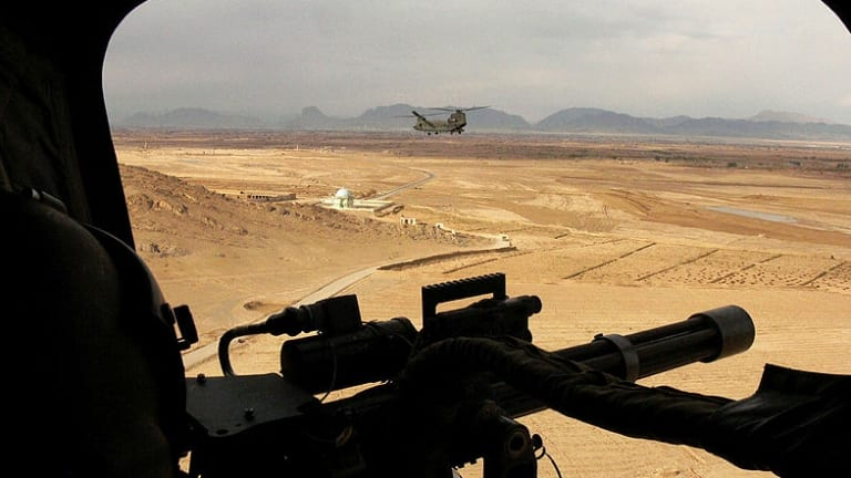 As the threat of improvised explosive devices increased, helicopters became the main mode of transport for Australian Special Forces in Afghanistan.