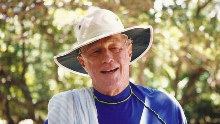 Mervyn Finlay in older age.