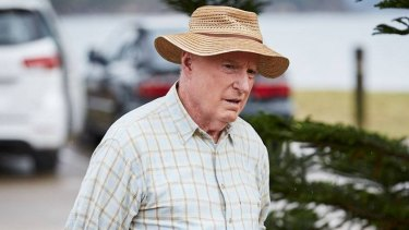 Home and Away character Alf Stewart, played by Ray Meagher.