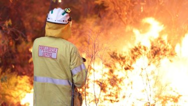 It was a busy bushfire season for both firefighters and police