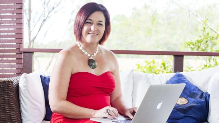 Queensland academic Dr Jenine Beekhuyzen, founder of the Tech Girls Movement..