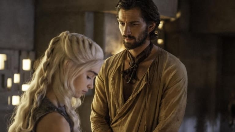 Where has all the sex gone <i>Game of Thrones</i>? Dany and  Daario Naharis. (No bare-bod pictures available sorry)