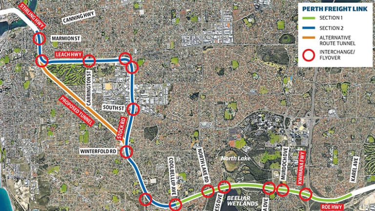 Main Roads opt for Perth Freight Link tunnel