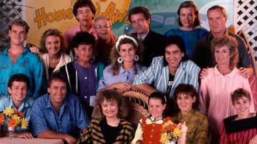 In '80s-era <i>Home and Away</i>, even the guys had shoulder pads.