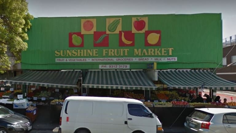 The former operator of Sunshine Fruit Market has copped a record fine for underpaying a newly arrived refugee.