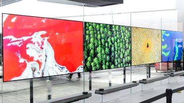 There's a lot more to do with a fancy UHD TV in South Korea than there is in Australia.