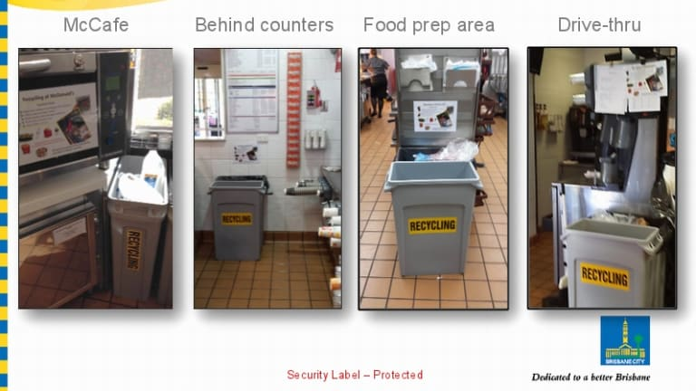 BCC report on bin placement to encourage recycling.