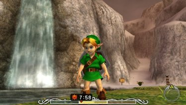 Though shrunk down for the small screen, Majora's Mask 3D's visuals are leagues ahead of the Nintendo 64 original.