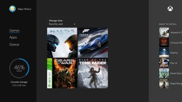 Xbox 360 games sit alongside all your other stuff. If you bought the game digitally it will just appear on your Xbox One. If you bought it on a disc, just insert it.