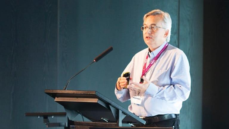 Chris de Silva, the global head of facial recognition at NEC.