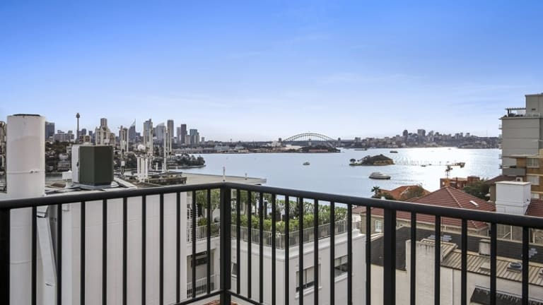 Million dollar views: Mr Joyce said homes would always be expensive when you can see the Opera House or Sydney Harbour Bridge.