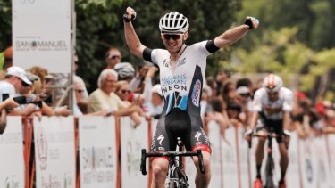 Canberra cyclist Michael Rice is riding a wave of success with the Axeon Hagens Berman team.