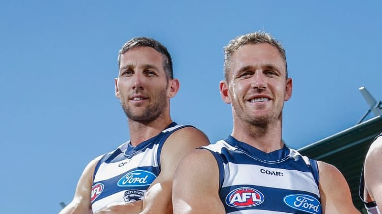 Geelong captain Joel Selwood and champion defender Harry Taylor have both signed contract extensions at the Cats.