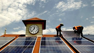 Time to get cracking on renewables and energy efficiency, the NSW government says.