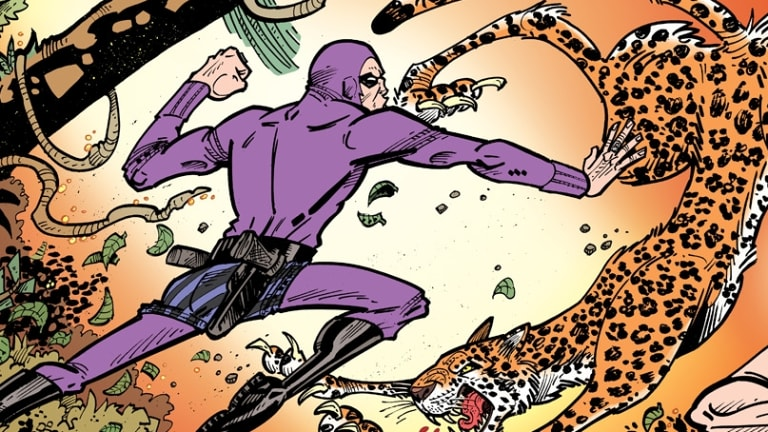 Paul Mason has illustrated the new comic Kid Phantom.