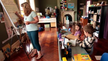 Over the past four years there has been a 40 per cent increase in home schooling.