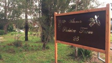 The Tromp family's Parkview Farm in Silvan.