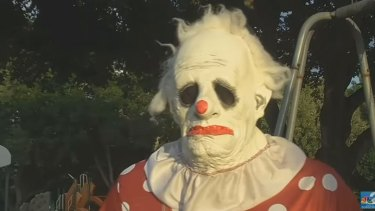 Wrinkles the Clown is being hired by parents to keep misbehaving children in line.