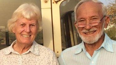 Jocelyn Elliott has been freed but husband Ken is still in the hands of kidnappers.
