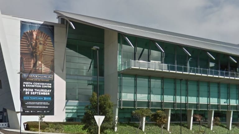 The Perth Convention Centre.