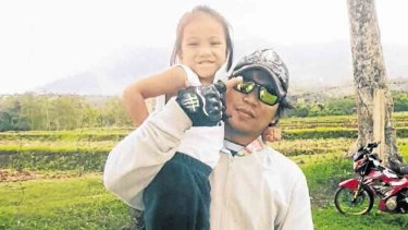 Althea Barbon and her father Alrick