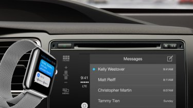 Apple is said to be working on an electric car to compete with Telsa.