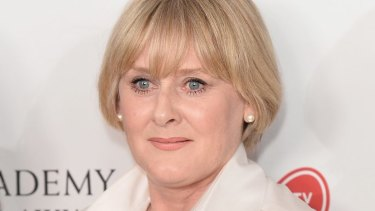 Sarah Lancashire stars in Happy Valley, which won the Drama Series award at the BAFTAs.