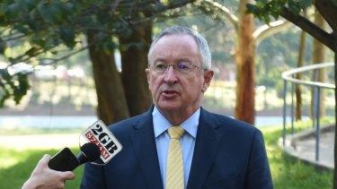 Health Minister Brad Hazzard.