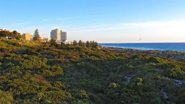 The dunes are fragile and should be protected, residents say.