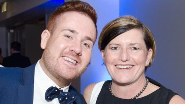 Mitchell Price, 26, is campaign manager for Christine Forster (right), who is vying to be Sydney's next lord mayor.
