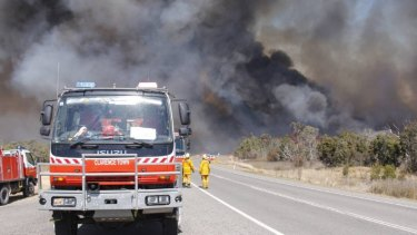 Firefighters are battling a blaze near Cessnock.