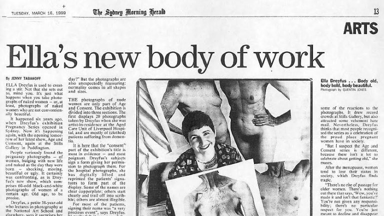 A report in the Sydney Morning Herald on Dreyfus' work in 1999.
