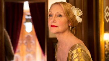 Patricia Clarkson plays queen bee Violet Gamart in <i>The Bookshop</i>.
