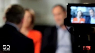 William Tyrrell's parents speaking in an interview on Sunday's <i>60 Minutes</i>.
