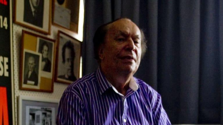 Emeritus Professor Larry Sitsky.