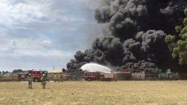 The MFB says the Broadmeadows fire is likely to burn for several hours.