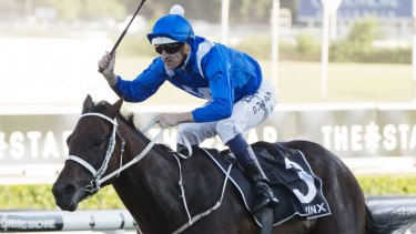Dynamic duo: Hugh Bowman has managed to avoid missing out on Winx's Warwick Stakes return.