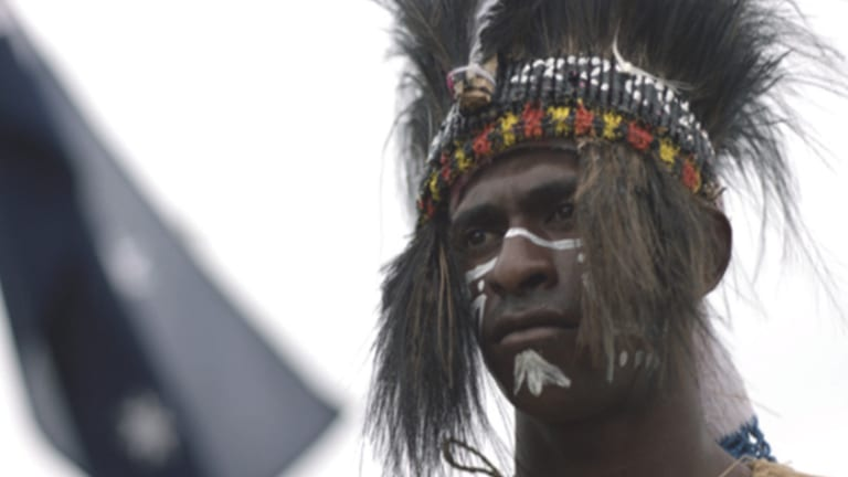 'These things don't work when it's network box-ticking': Richard Finlayson on <i>Blue Water Empire</i>, a dramatised documentary series about the Torres Strait Islands.