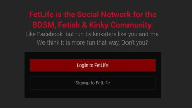 The website FetLife boasts more than 5.3 million members
