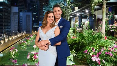Georgia Love and Lee Elliott, the happy couple in the final installment of The Bachelorette 2016.