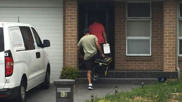 Detectives searched Richard Roy Anthony Williams' home at The Entrance on Tuesday.
