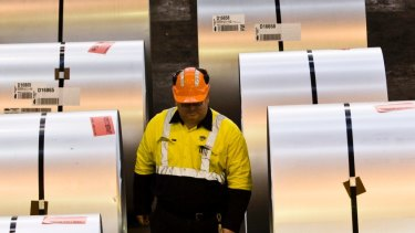BlueScope plans to look at taking more costs out of the Port Kembla steelworks.