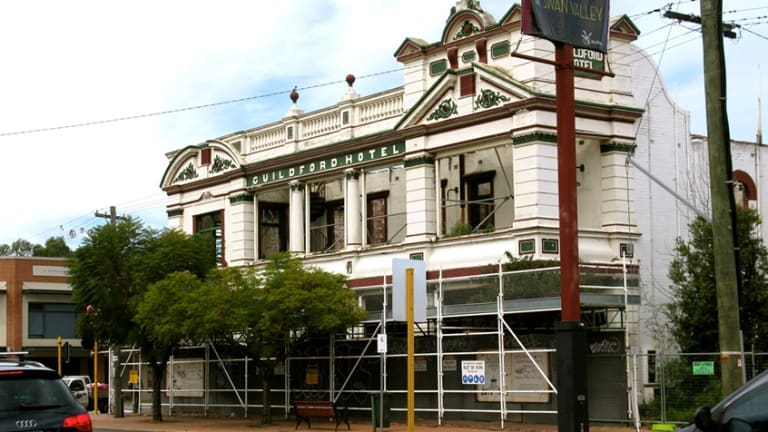 A recent image of the historic Guildford Hotel
