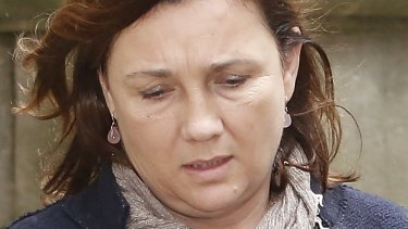 Haissam Safetli pleaded guilty to intimidating Kimberley McGurk, the widow of slain businessman Michael McGurk.