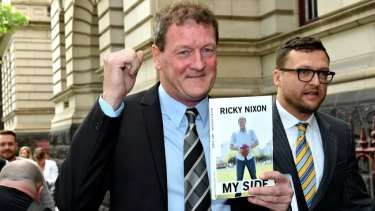 Ricky Nixon can publish his memoir in hard copy only.