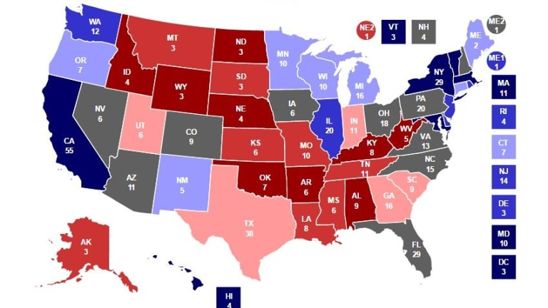 US Election 2016: explaining the presidential electoral college to ...