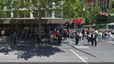 The Westpac branch where Tomlin was a customer.