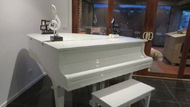 Grand piano tendered as evidence at IBAC hearing last year
