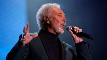 Tom Jones, one of the big performers at Jupiters Casino