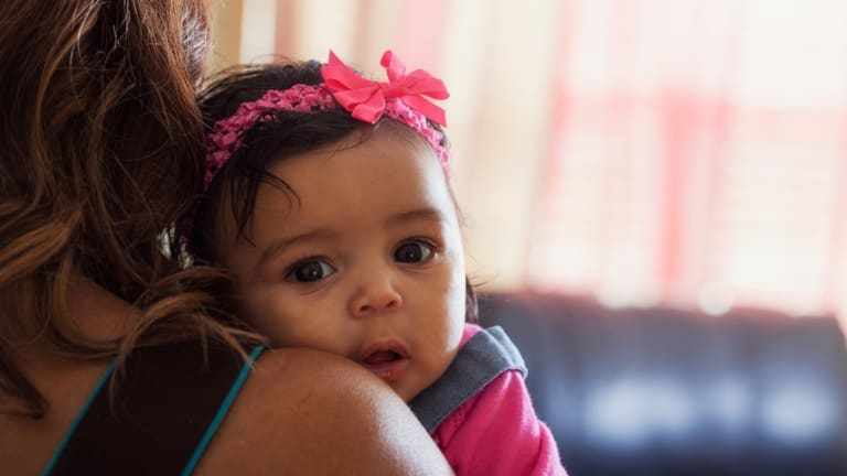 """""""After my baby daughter turned one, it finally hit me. I'm an introverted mum."""""""